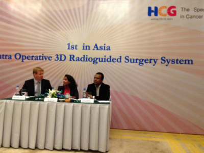 1st in Asia, Intra Operative 3D Radioguided Surgery System at HCG